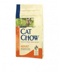 Cat chow  adulto Frango e perú