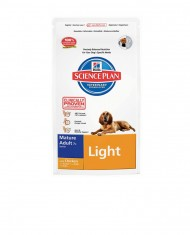 Science Plan mature adult 7+ light medium