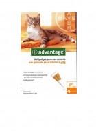 Advantage gatos (até 4kg)