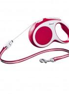 Flexi Vario Cordão 5m Vermelha S