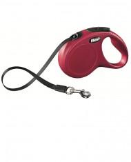 Flexi New Classic Fita 5m Vermelha M-L