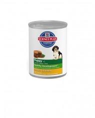 Science Plan Puppy medium frango e arroz lata de 370 gr