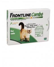 Frontline combo spot on gatos embalagem monopipeta